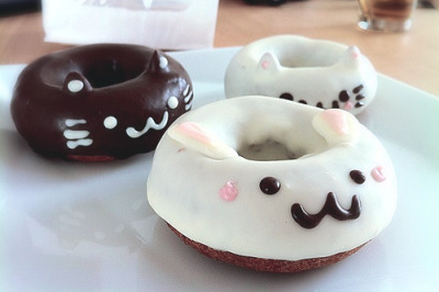 ohmyasian:  2768. Cat Donuts. Nommable cats.
