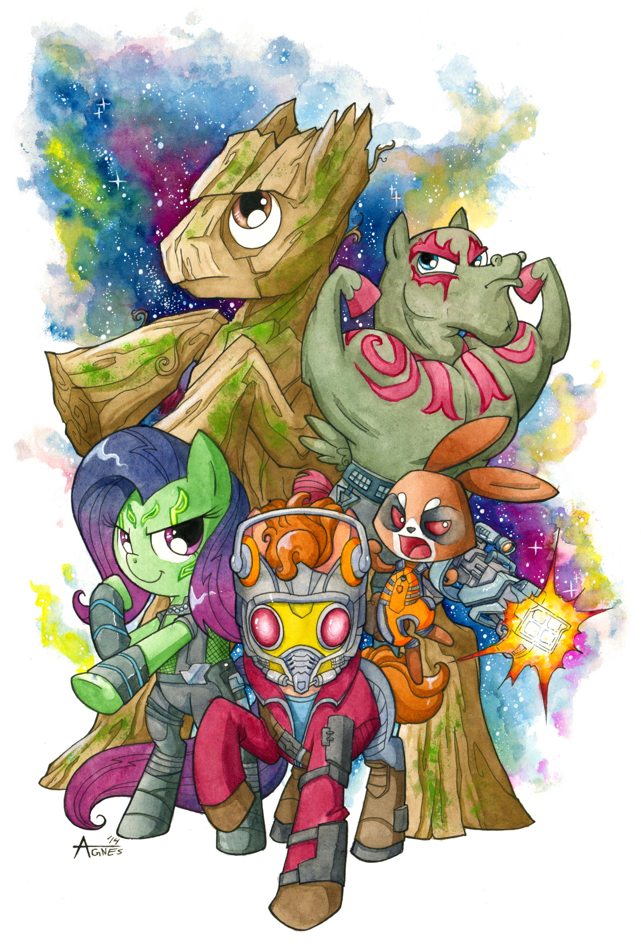My Little Pony meets Guardians of the Galaxy!!