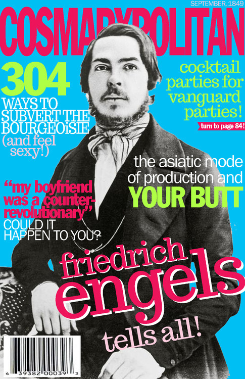 terriblesting:  From the greatest tumblr ever Cosmarxpolitan