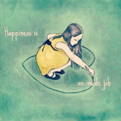 No one can make you happy if you're not happy with yourself ! #Happiness is an inside job! 💚💛#selflove #behappy