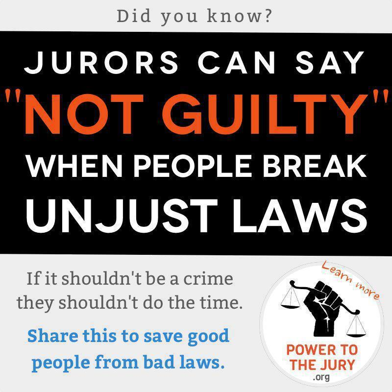 angelclark:  Jury nullification, check it out!