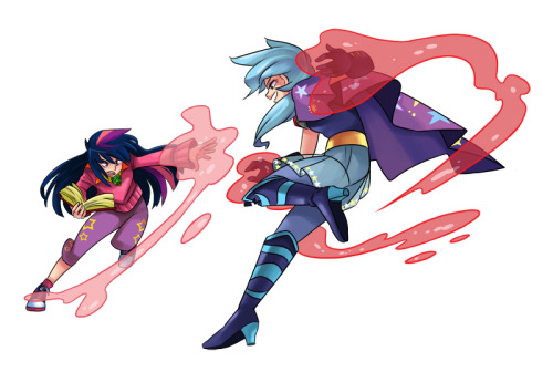 Magic Duel episodic art! Also, Comic Fiesta has been a real blast! I manage to sell out all the Adventure Time doujins and for that I'm very grateful(And extremely happy to find out so many Adventure Time fans in my own country). :)