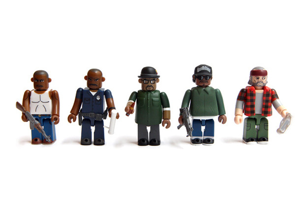 these are rudder  Medicom toys based on GTA San Andreas characters