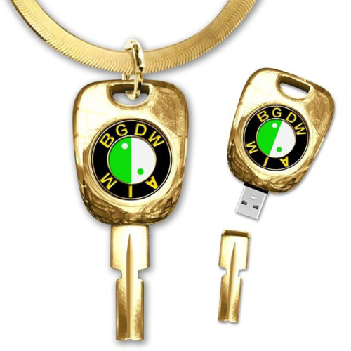 M.I.A. Bad Girls USB Necklace it's $50, but we all know I'd wear this every single day of my life