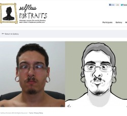 This was so much fun to do. There is this website called selflessportraits.com where you participate by drawing a stranger's Facebook profile picture that is assigned to you randomly. It could be any person from anywhere around the world. And you can get only 48 hours to draw. This is my first drawing. Didn't take me more than hour. It feels so good to draw again that I just might continue to do more. =)
