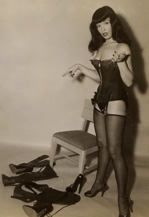 BETTIE PAGE AND HER BEST FRIENDS  from RARE BETTIE PAGE SITE IS ADULT ONLY NSFW