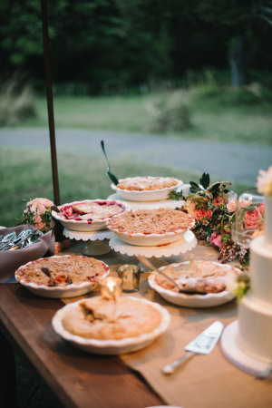 posh wedding vintage food vertical p
