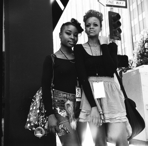 Models… Los Angeles Fashion District Los Angeles, CA May 2012