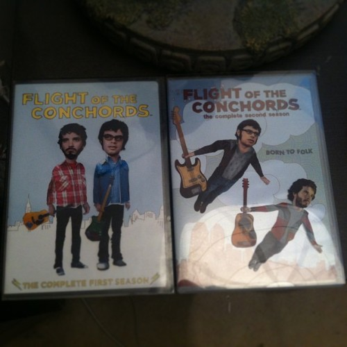 It's Flight of the Conchords time.