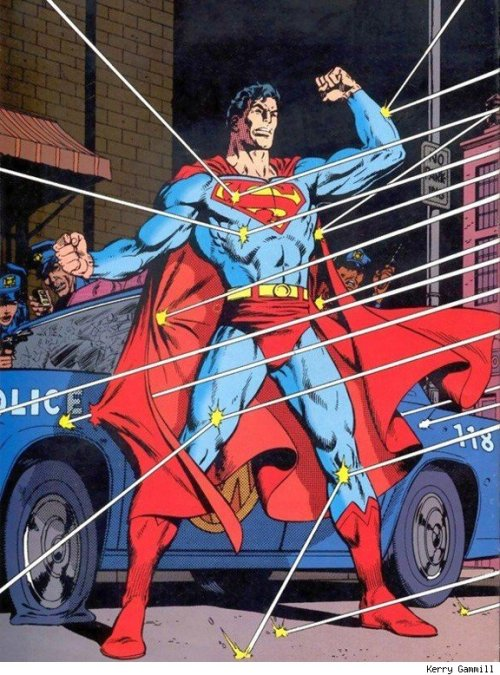 supermanblog:  Superman by Kerry Gammill http://superman-blog.com/