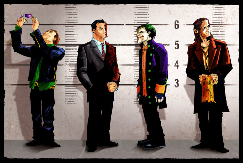 Arkham's Usual Suspects by Charles Holbert Jr. and Joey Zero