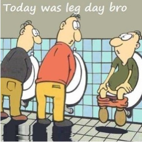 Today was leg day bro! #leg #legday #sore #protein #proteinshake #funny #instalol #lol #idgaf #squat #squats #doyouevensquat #tryingtogetasexybut #doyoueven #gym #notevenamember #rebel  (at Usq Works Health & Recreation Centre)