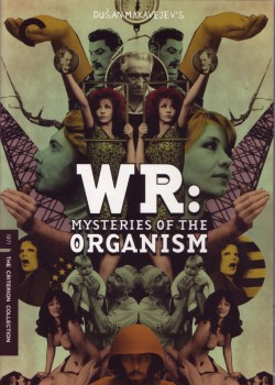 weirdcreep:  WR: Mysteries of the OrganismDušan MakavejevYugoslavia, 1971 Gorgeous packaging on this dvd of WR. Art credits for the dvd: Sarah Habibi (art director), Lucien S. Y. Yang (Menu and package design). via