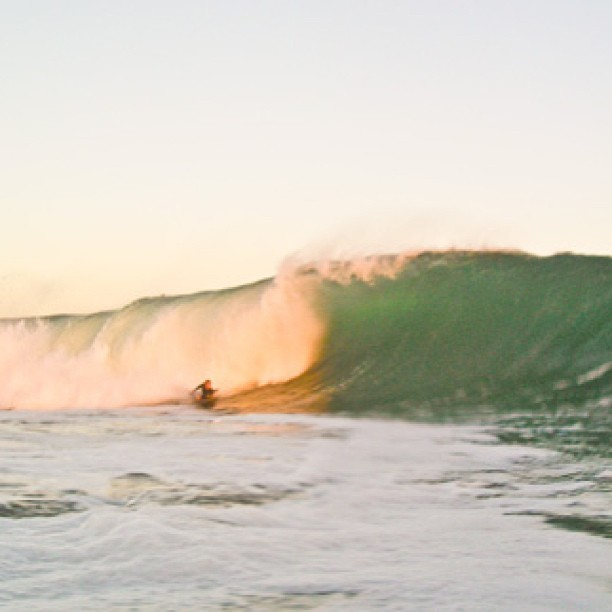Found an old pic my brother took of me bottom turning at The Wedge. Excited for the summer!