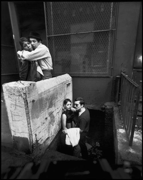 Bruce Davidson, East 100th Street, New York City, 1966