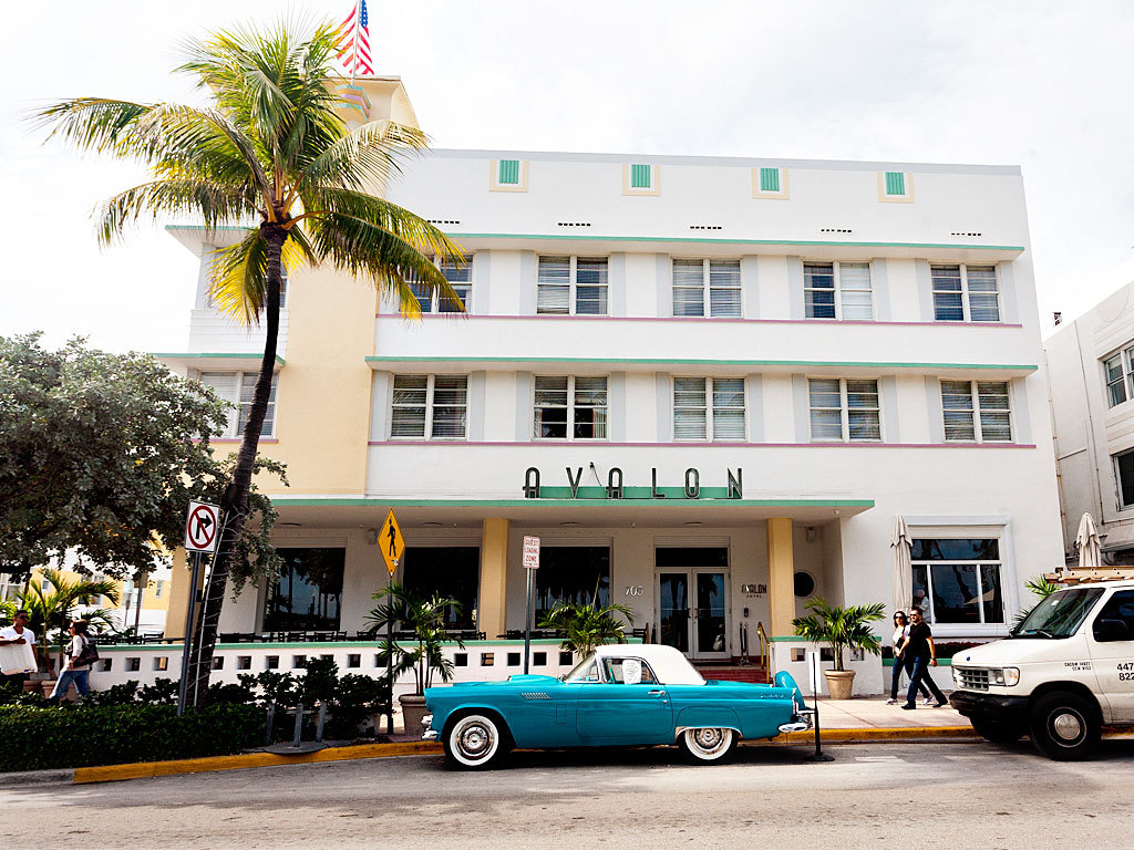 clubmonaco:  Avalon Hotel, Miami Beach.