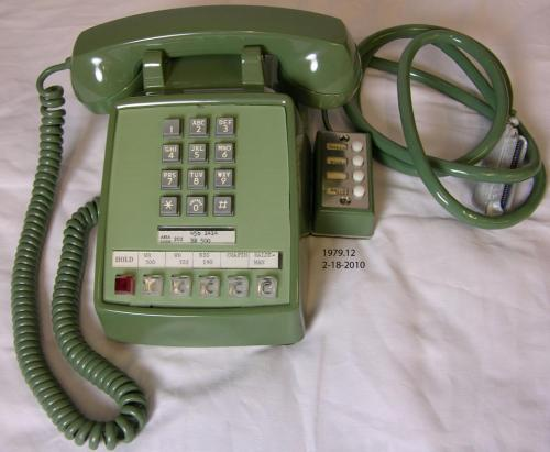 "On July 20, 1969, President Richard Nixon used this green telephone in the Oval Office to talk to the Apollo 11 astronauts while they were on the surface of the moon.  Now you can see this same phone on display in the National Archives in Washington, D.C. This morning at 11 a.m., we will host a ribbon cutting ceremony to officially open the display ""Nixon and the U.S. Space Program,"" which will feature rarely seen documents, photographs, and artifacts that represent milestones in manned spaceflight during President Nixon's administration.  It's also the 100th anniversary of the birth of Richard Nixon. Stop by during this centennial year and learn about Nixon's support for the lunar program and his efforts to improve Cold War relations through a cooperative space exploration program. The telephone is part of the holdings of the Richard Nixon Presidential Library and Museum. More on The Richard Nixon Centennial"