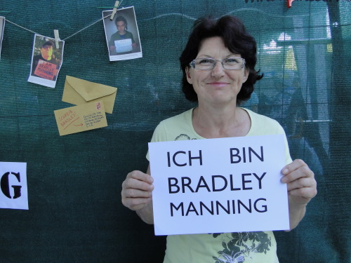 I am Peter Marianne from Austria and I support Bradley Manning