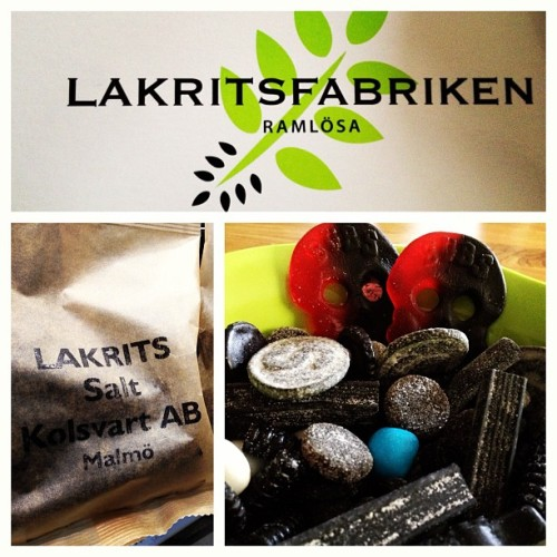 Today's #Liquorice Day-I #love #supersalty ! #malmo #kolsvart #lakritsfabriken #skane #sweden #candy #lakrits #godis