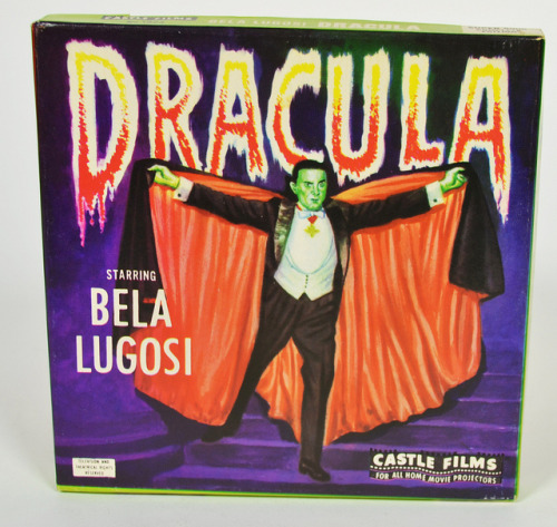 Dracula  (1931) 8mm Castle Films (1960s)