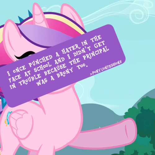 h8seed:  7hrone:  ponyconfessions:  I once punched a hater in the face at school.I didn't get in trouble Because the principal was a Brony too. and now the hater is walking around with a black eye and we call him Gilda.  this makes me want to puke  fUCK   I like MLP FiM - but letting a child get away with punching another child in the face because you share an interest in a TV show is morally and professionally wrong.A head teacher is supposed to treat all kids equally and make sure they act appropriate and treat each other right - what kind of message has that kid learned now? It's okay to punch somebody in the face if they disagree with you or hate something you love? Just, no.