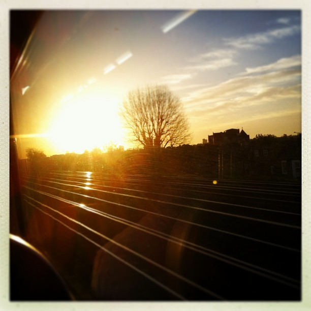 My sunny Morning commute  (at Clapham Junction Railway Station (CLJ))