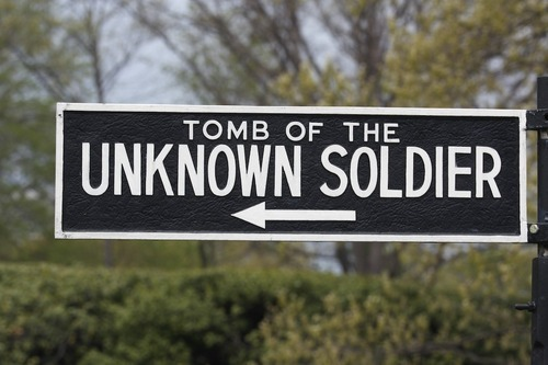 Tomb of the Unknown Soldier-Arlington National Cemetery,Virginia.  Changing of the Guard