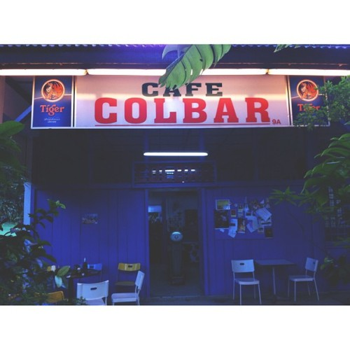 Late lunchers  (at Colbar Cafe)