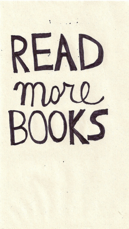 21vines:  read more books (by Lauren Hannah)