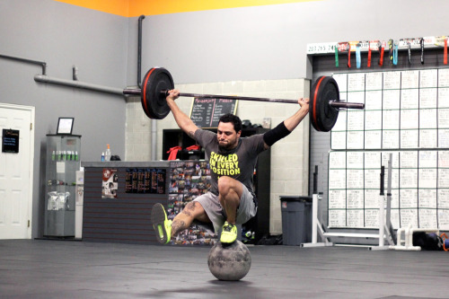 Ummmff bergopher:  Nik Bruce from Crossfit Utah Valley featured on the Crossfit main page [x] This guy is a beast.
