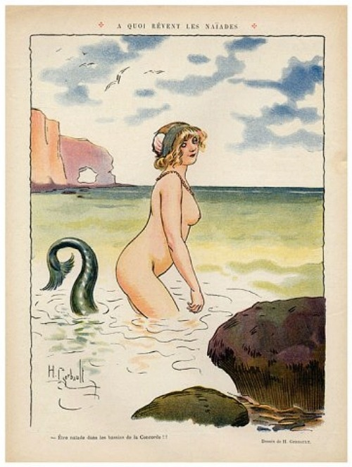 hoodoothatvoodoo:  Le Sourire Illustration by Henri Gerbault