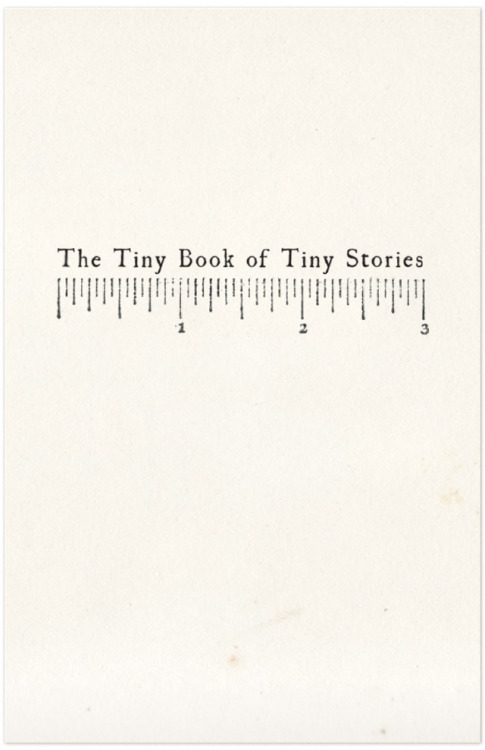 likeafieldmouse:  The Made Shop - The Tiny Book of Tiny Stories (2012)