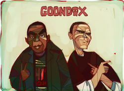 I did some art on the latest Snowgoons project, Goondox, featuring rappers PMD and Sean Strange