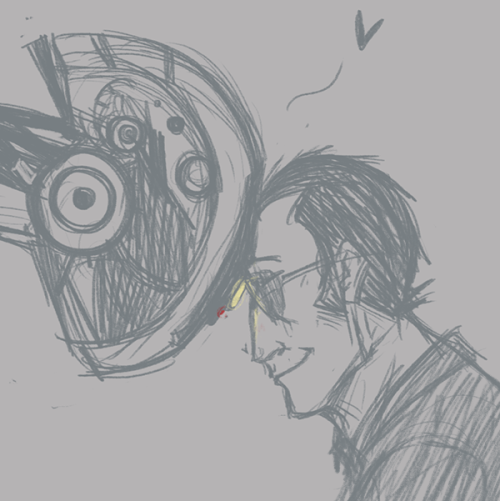 cosmictuesdays answered your question: Requests? Sniper/GLaDOS? Here you go, I hope this is fine ^v^
