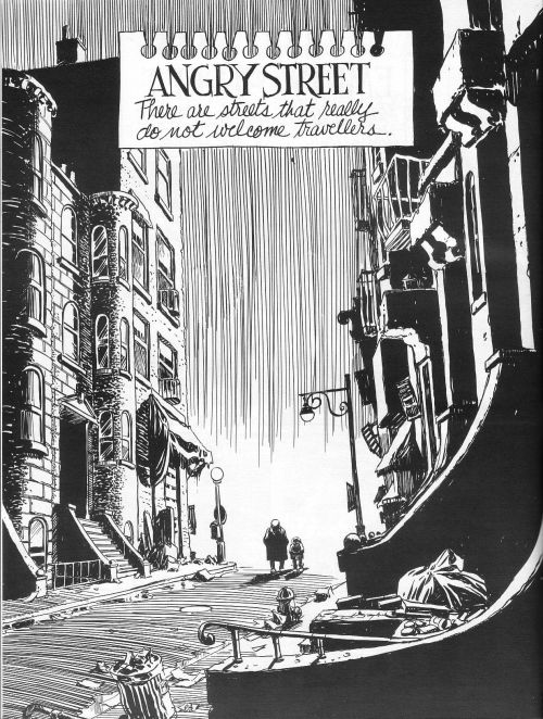 diegomachuca:  Will Eisner's New York: Life in the Big City