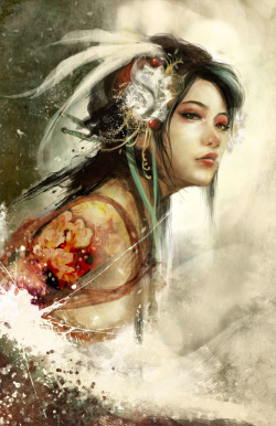 thespookychik:  Flower snake by *muju