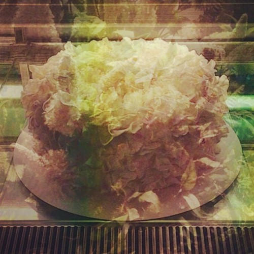 The cake in my dream.  (at Sevva)