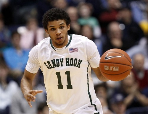 cbssports:  Xavier is auctioning off these game-worn Sandy Hook Elementary tribute jerseys for a great cause.