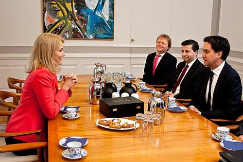 Ed when met the Danish PM, he was disappointed that she wasn't the one from Borgen.