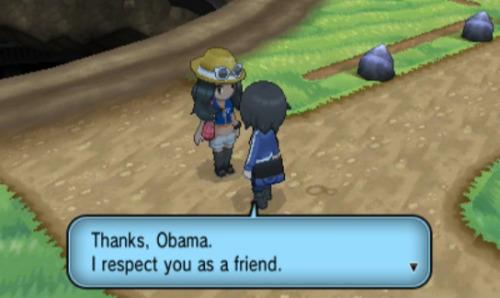 thanks obama Pokemon XY