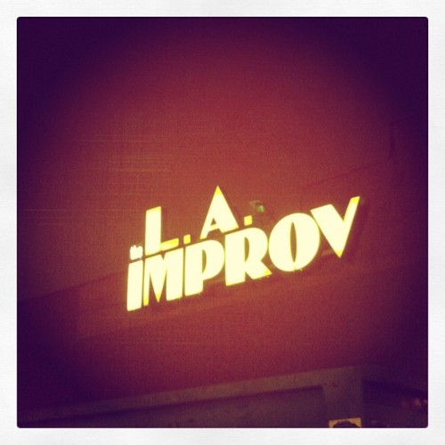 Fun night!  (at The Hollywood Improv)