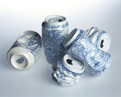 Porcelain Crushed Cans, Xua Lei