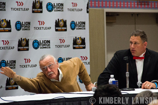 Stan Lee Wizard World Comic Con Portland on Flickr.Stan Lee. Love how during Bruce Campbells panel he let us all know that Stan loves to hit up strip clubs. haha.