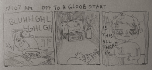 hourly comics day begins — 12:07 a.m.