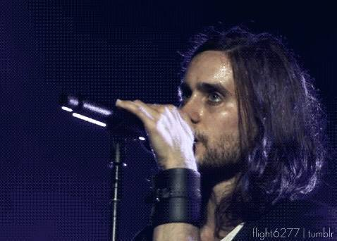 Jared Leto - Thirty Seconds To Mars kroq - 2013