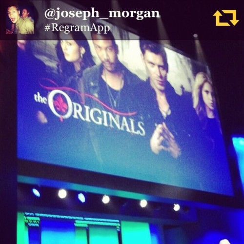 RG @joseph_morgan: It's getting real this fall! #theoriginals #regramapp @hyrralei !!watch tayoooo nitooooo!!!!😱