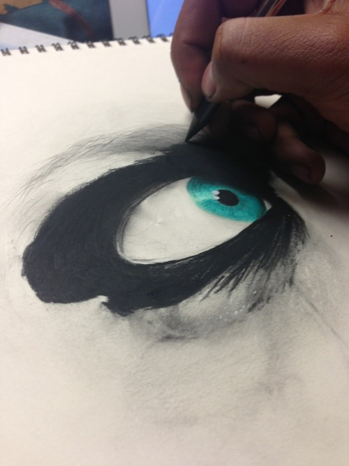 chrisherreraart:  Work in progress 👀