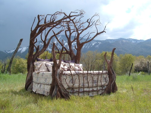 Tree Bed, St. Georges, Utah photo via sheri