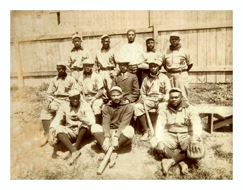 1907 Philadelphia Giants TeamOne of the great teams of the early Negro Leagues…