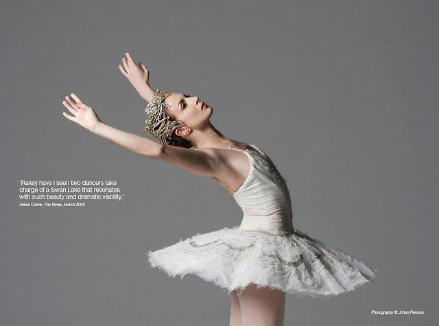 """Rarely have I seen two dancers take charge of a swan lake that resonates with such beauty and dramatic viability."" - Debra Craine, The Times, March 2009."